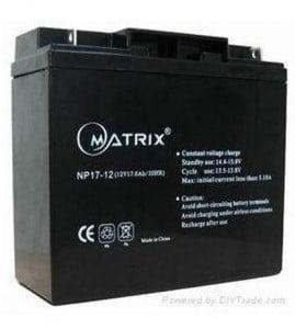 12v 17amp batteries