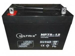 12v 75amp battery