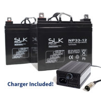 33ah batteries and chargers