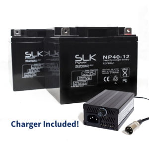 40ah batteries and charger