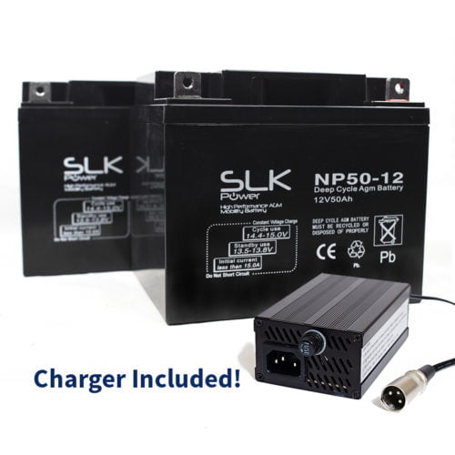 50ah batteries and charger