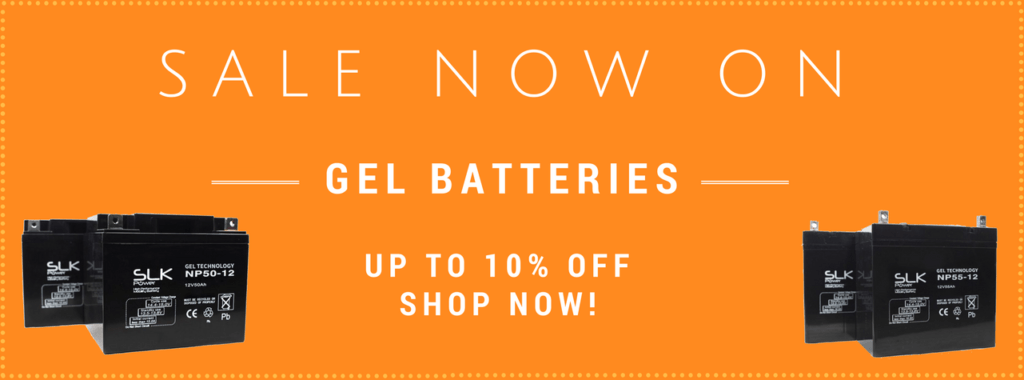 10% Off GEL Batteries