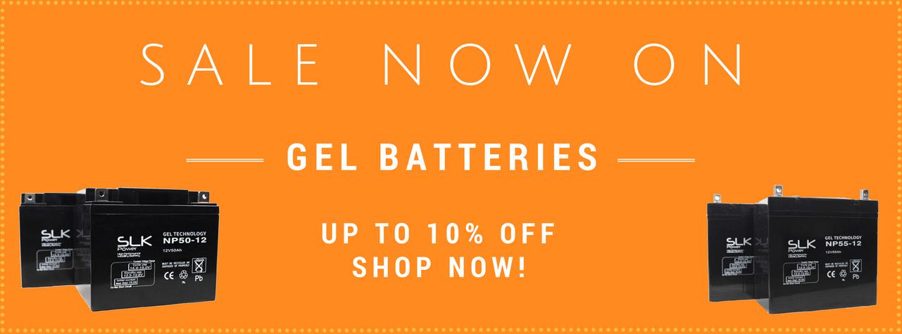Gel Batteries Sale