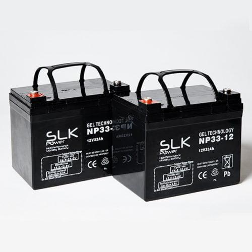12v 33ah Gel Mobility Scooter Batteries