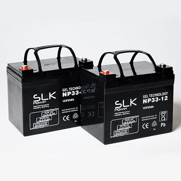 12v 33ah Gel Mobility Scooter Batteries