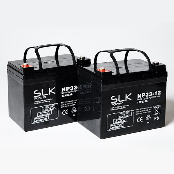 33ah Mobility Scooter Batteries