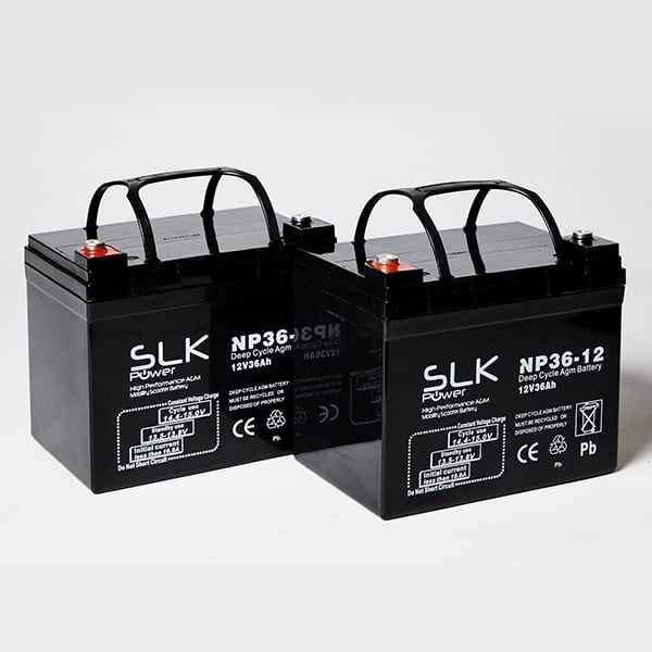 36ah Mobility Scooter Batteries
