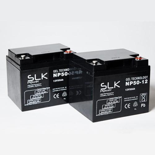 12v 50ah Gel Mobility Scooter Batteries